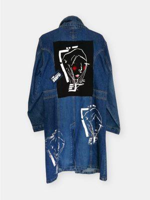 long jeans coat maria