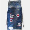 seefd jeans skirt long