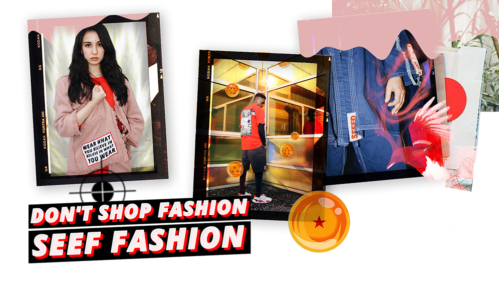 Don't shop fashion, SEEF fashion!